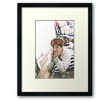 Park Jimin (BTS) - Flower Crown Framed Print