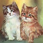 Two Friends by ellenspaintings