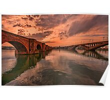 Tweed Bridges Poster