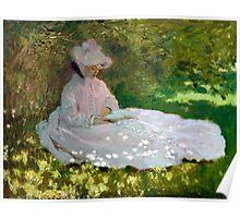 Springtime - Claude Monet - 1872 Poster
