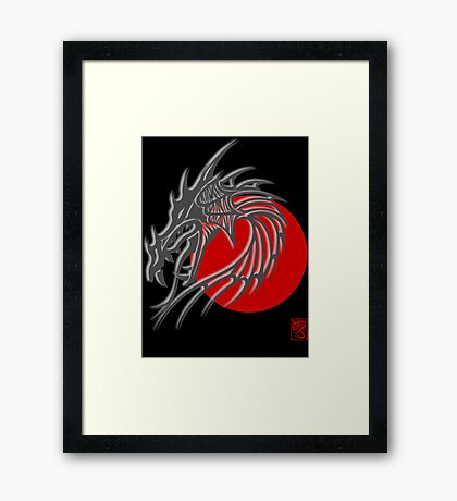 Year of The Dragon Framed Print