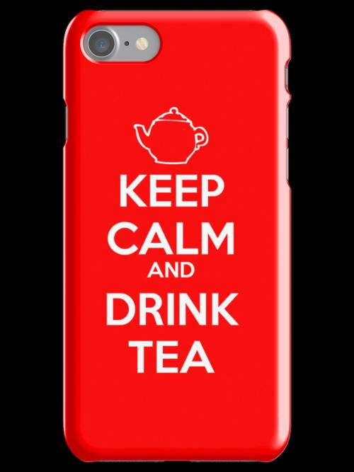 Keep Calm and Drink Tea by jackholmes