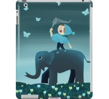 Catching butterfly iPad Case/Skin