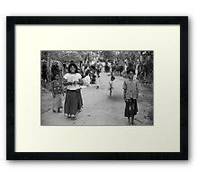 One Step At A Time III Framed Print