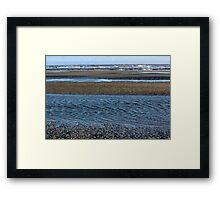 Tidal Ripples Framed Print