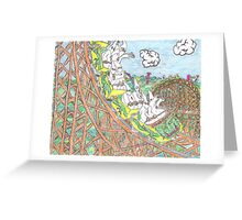KKK Rollercoaster Greeting Card