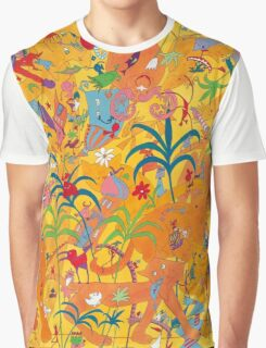 Cats' Love Graphic T-Shirt
