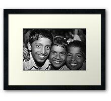 One Step At A Time VI Framed Print
