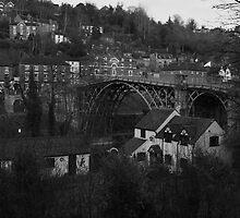 Iron Bridge town by yampy
