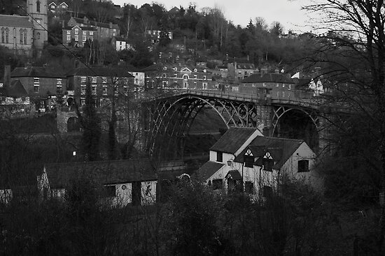 Iron Bridge town by yampy