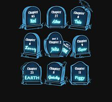 Spoiler Graveyard | Literary Characters Who Die in their Books Unisex T-Shirt