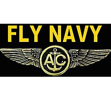 Navy Aircrew Wings for Dark Colors Photographic Print