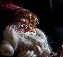 Santa Portrait by Patrick Metzdorf