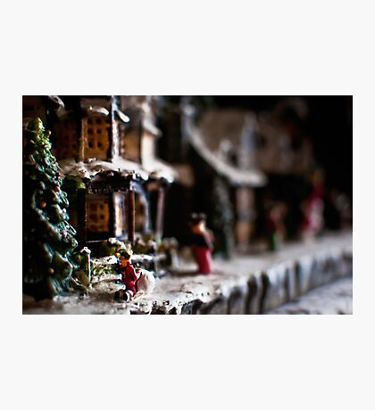 Small Town Values Photographic Print