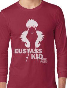 Supernova Eustass Kid Vector WHITE Long Sleeve T-Shirt