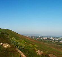 A panoramic of Carn Brea hill by aaronnaps
