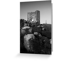 Carn Brea castle Greeting Card