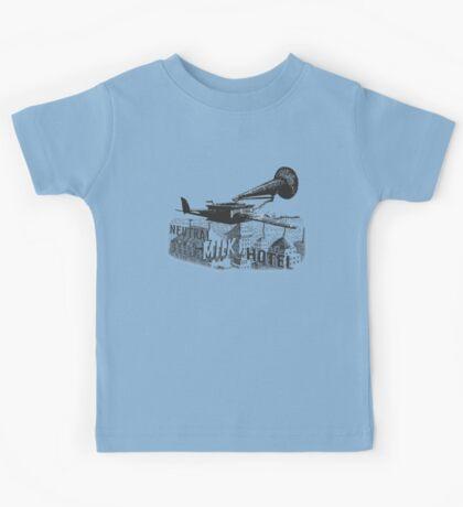 in the aeroplane over the sea Kids Tee