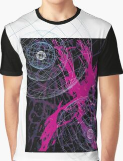 brush splash spheres Graphic T-Shirt