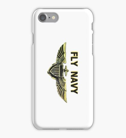Naval Aviator Wings iPhone Case/Skin