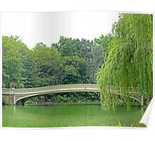 Bow Bridge Poster