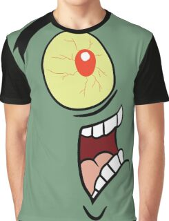 Shock, Horror, Plankton Graphic T-Shirt