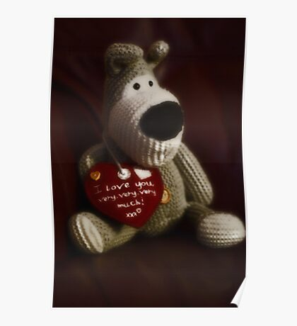 Boofle love Poster