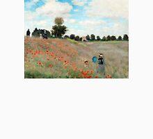 Poppy Field - Claude Monet - 1873 Unisex T-Shirt