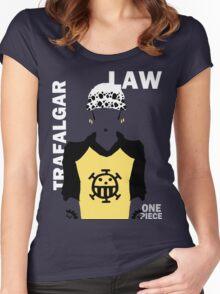 Supernova Trafalgar Law Vector Women's Fitted Scoop T-Shirt