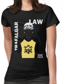 Supernova Trafalgar Law Vector Womens Fitted T-Shirt