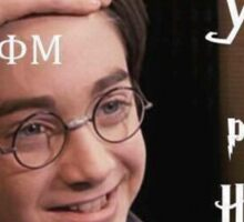 Harry Potter Phi Mu Sticker