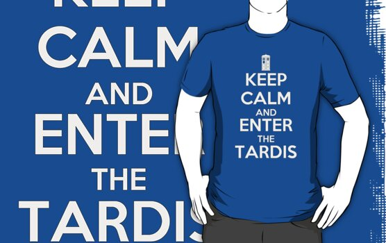 KEEP CALM and ENTER the TARDIS - DR WHO by CalumCJL