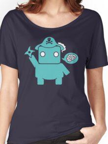 Ninja, Pirate, Robot, Zombie | Cute Geek Character Women's Relaxed Fit T-Shirt