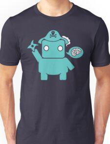 Ninja, Pirate, Robot, Zombie   Cute Geek Character Unisex T-Shirt