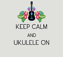 Keep Calm and Ukulele On Unisex T-Shirt