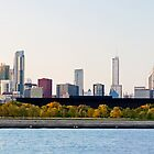 Chicago Skyline Panorama by Jeff Hathaway