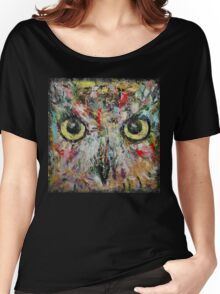 Mystic Owl Women's Relaxed Fit T-Shirt