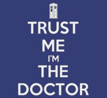 TRUST ME I'm THE DOCTOR - DR WHO