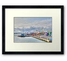 Dublin Dockland   Framed Print