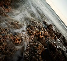 Seascape with magnesian limestone by PaulBradley