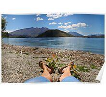 Summer at Wanaka Poster