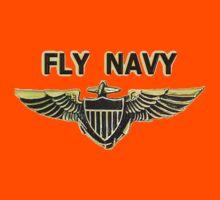 Naval Aviator Wings Kids Tee