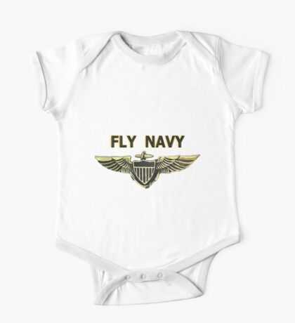 Naval Aviator Wings One Piece - Short Sleeve