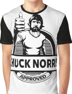 Chuck Norris Approved Graphic T-Shirt