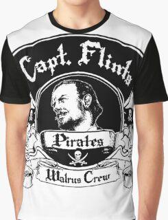 Captain Flints Pirates - Walrus Crew Graphic T-Shirt