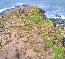 Mythical steeped -Giant's Causeway by Ferdinand Lucino