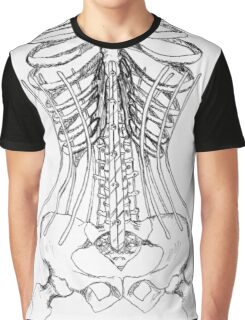 Corset Bones Graphic T-Shirt