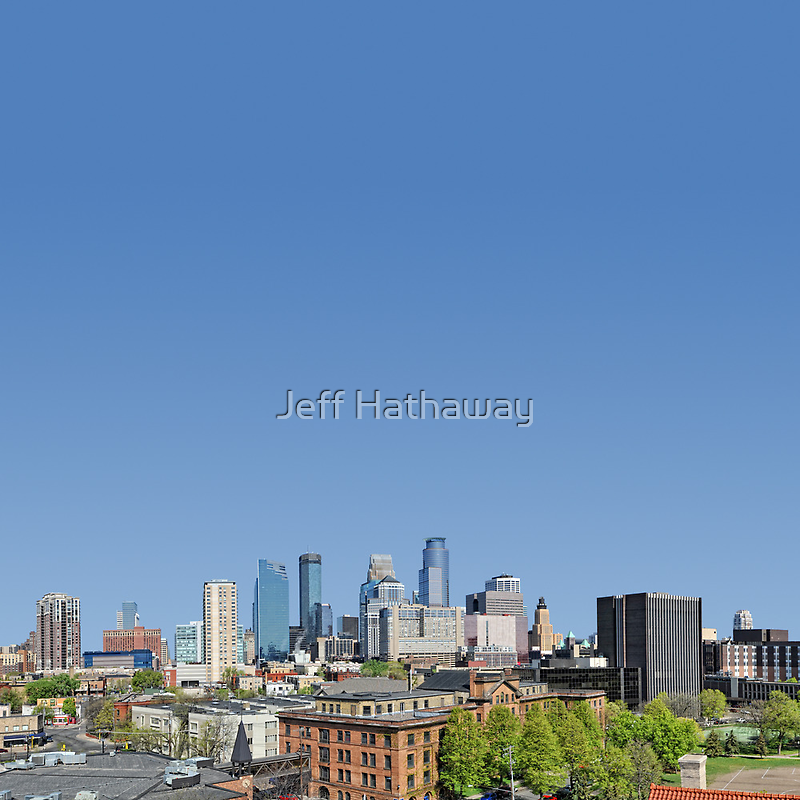 Minneapolis Minnesota downtown by Jeff Hathaway