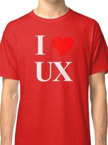 I Heart UX Classic T-Shirt