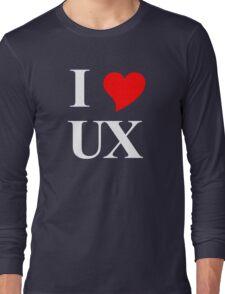 I Heart UX Long Sleeve T-Shirt